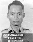 Felix Magalong after capture